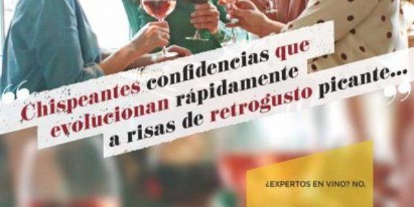"""""""¿Expertos en vino? No. Expertos en saborear cada momento Con_Vino"""""""