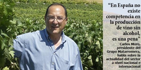 """""""En nuestro país no hay competencia en la elaboración de vino sin alcohol, es una pena"""""""