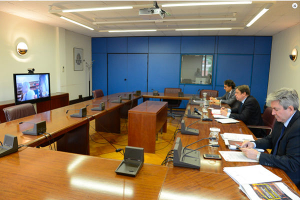 La FEV y el Ministerio analizan las medidas aplicadas en el sector vitivinícola y buscan soluciones para paliar los efectos del COVID-19