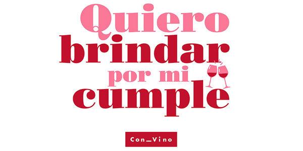 #QuieroBrindarPorMiCumple