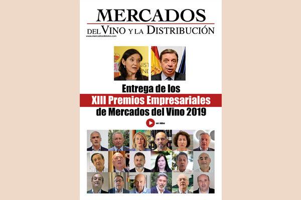 La entrega de los XIII Premios Empresariales Mercados del Vino y la Distribución ha superado las 7.000 visualizaciones