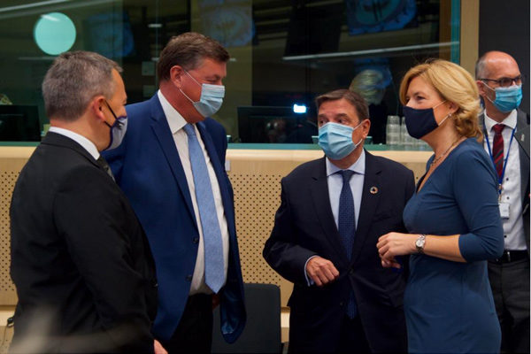 Luis Planas apoya a la Presidencia alemana para cerrar un acuerdo sobre la PAC en octubre