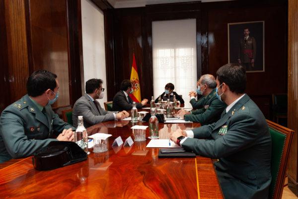 La Guardia Civil y la CECRV firman un protocolo de actuación para la prevención y lucha contra el fraude