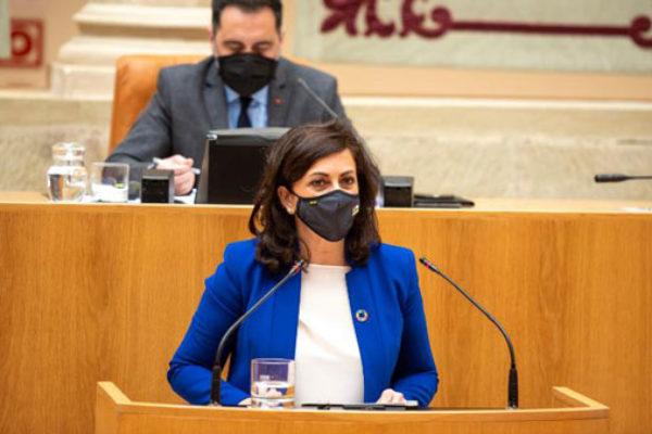 """La presidenta Andreu: """"Defenderemos siempre con contundencia los intereses de La Rioja en el sector del vino"""""""