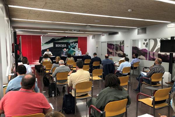 Importantes acuerdos en el último pleno de la D.O.Ca Rioja presidido por Fernando Salamero