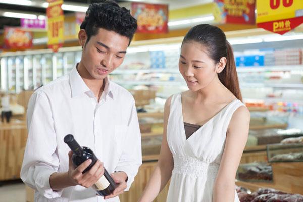 Los vinos españoles ganan terreno en China