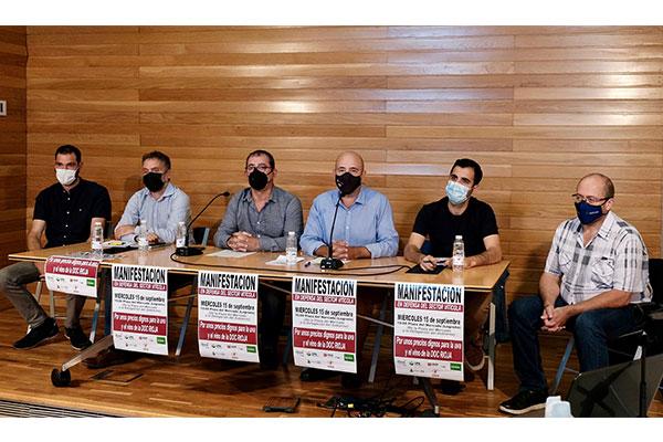 Los viticultores se manifiestan mañana para reclamar unos precios dignos para la uva y el vino de la D.O.C. Rioja
