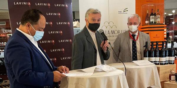 Montilla-Moriles estrena en Lavinia su nueva imagen de marca